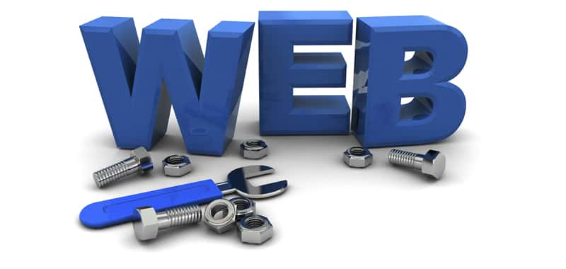 Administration of a Web page on the Internet
