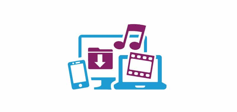 Audio and video for an Internet web page