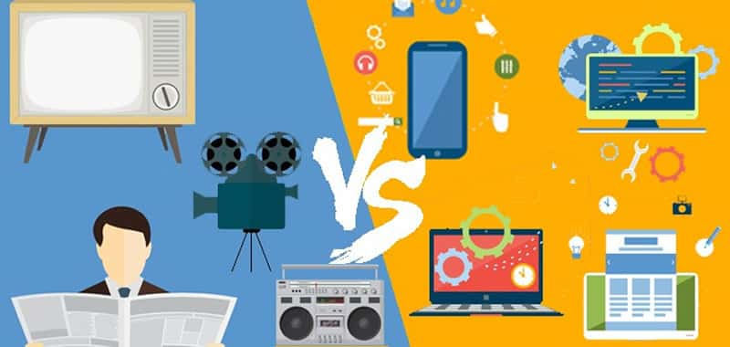 Difference between traditional marketing and online | Websites Management | Marketing Online marketing responds to the call to action, online consumers initiate communication seeking information of interest and publicity