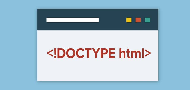 DOCTYPE HTML5 Definition of Document Type What is it?
