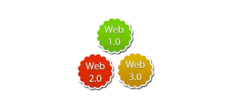 Evolution of the Web 1.0, 2.0 and 3.0 - Differences and attributes | Learn HTML | The Web came up with basic browsers that only interpreted text, then HTML appeared making the pages more friendly and easy to access
