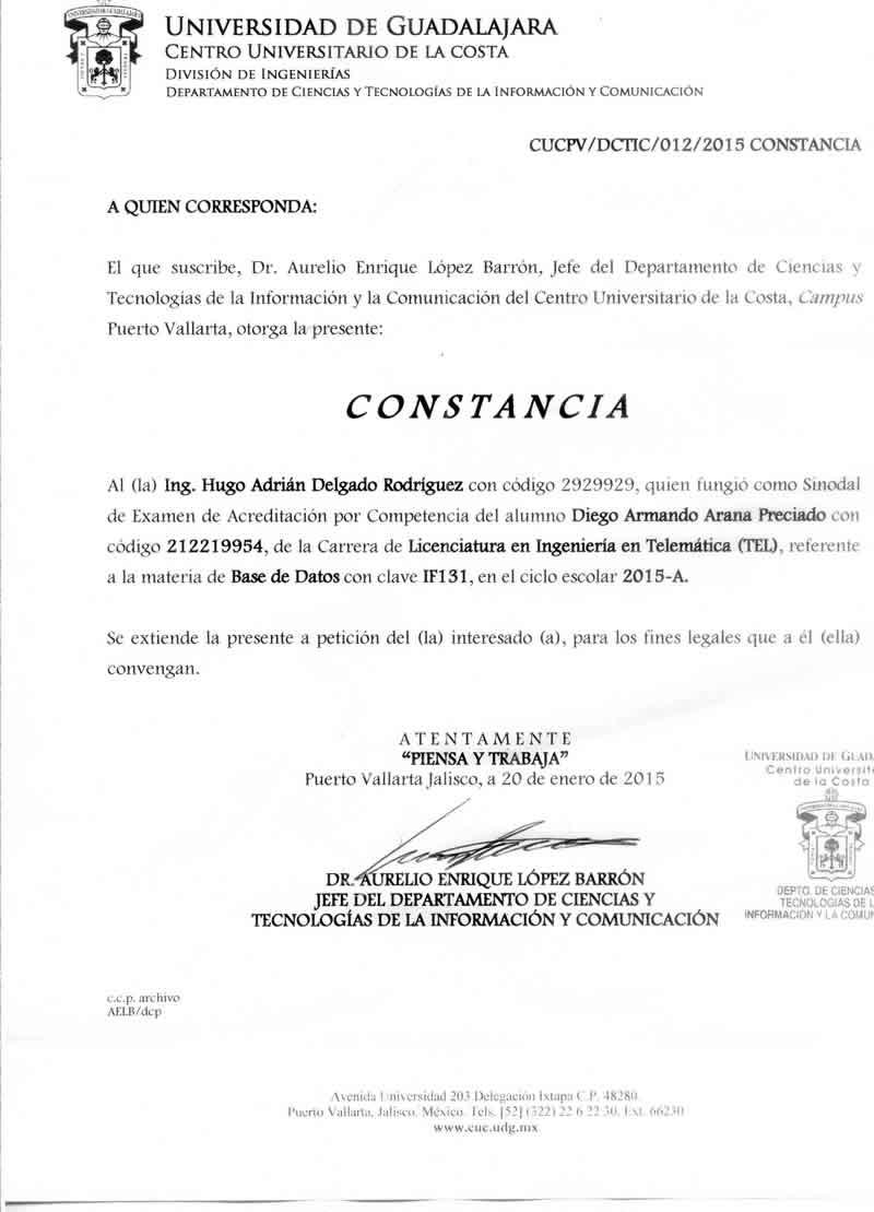 Ingeniero en Computación Currículum Vitae Hugo Delgado