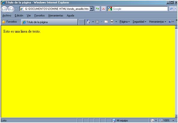 C U00f3digo Html De Color Para Fondo Y Texto En P U00e1gina Web